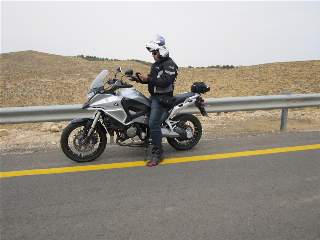 שונות מיצו רוכב על Honda VFR1200X Crosstourer – מיצו בדרכים FF-12