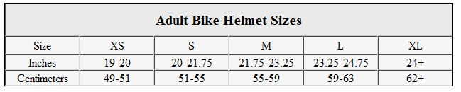 helmet-size-chart