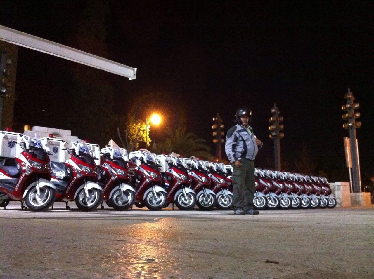 עדכון מעודכן אופנועי אמבולנס חדשים לאיחוד הצלה – מיצו בדרכים WI-96